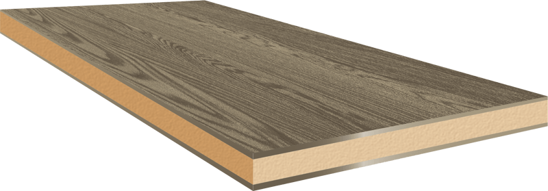 Fineerhout voor een kast op maat