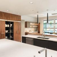 Gebruik verschillende materialen interieurbouw meubelmaker Den Haag