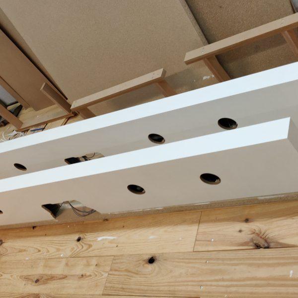 Boekenplank met verlichting meubelmaker Den Haag